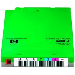 Hewlett Packard (HP) - C7974WL - HP C7974WL LTO Ultrium 4 WORM Custom Labeled Tape Cartridge - LTO Ultrium LTO-4 - 800GB (Native) / 1.6TB (Compressed) - 20 Pack