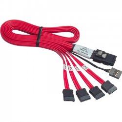 Promise Technology - CABMS2FN10 - Promise Mini-SAS to SATA Cable Adapter - Mini-SAS, SATA - 3.28ft