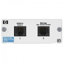 Hewlett Packard (HP) - J8759A - HP ProCurve Secure Router dl 1-port ADSL2+ Annex B Module - 1 x ADSL
