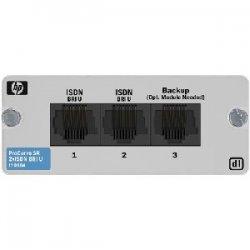 Hewlett Packard (HP) - J9010A - HP ProCurve Secure Router dl 2-port ISDN BRI U Module - 2 x ISDN BRI (U)
