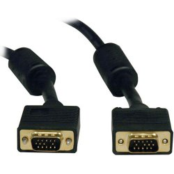 Tripp Lite - P502-003 - Tripp Lite 3ft VGA Coax Monitor Cable with RGB High Resolution HD15 M/M 3' - (HD15 M/M) 3-ft.