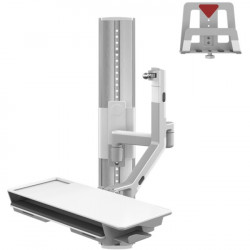 Humanscale - VF36-SAXX-22506 - Humanscale V/Flex Wall Mount for CPU, Cradle, Monitor - 6 lb Load Capacity
