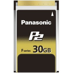 Panasonic - AJ-P2E030FG - Panasonic 30 GB P2 Card
