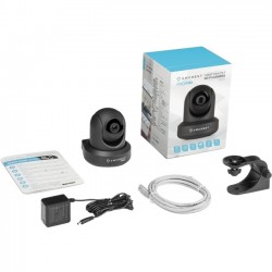 Foscam Digital Technologies - IP2M-841B - Amcrest IP2M-841B 2.1 Megapixel Network Camera - 1 Pack - Color - 32 ft Night Vision - 1920 x 1080 - CMOS - Wireless, Cable - Dome