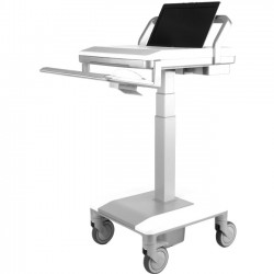 """Humanscale - T75-N--1L20 - Humanscale T7 - Non-Powered for Laptop, No Auto-fit or PowerTrack - Push Handle Handle - 8.1"""" Width x 28.1"""" Depth x 52.7"""" Height"""