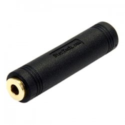 StarTech - GCAUD3535FF - StarTech.com 3.5 mm to 3.5 mm Audio Coupler - Female to Female - PVC