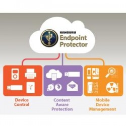 Kanguru - KEP-BNDL1-2 - Kanguru Endpoint Protector (EPP) Cloud-Based Security Platform - Bundle 1 Client - 2 Years - PC