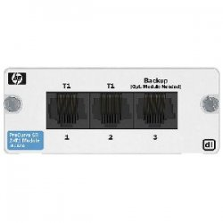 Hewlett Packard (HP) - J8453A - HP ProCurve Secure Router dl 2xT1 Module - 2 x T1/FT1 WAN 1 RJ-451.544