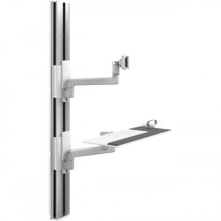 Humanscale - VF56-0505-10026 - Humanscale V/Flex Wall Mount for Flat Panel Display
