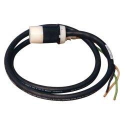 Tripp Lite - SUWL520C-20 - Tripp Lite 20ft Single Phase Whip 120V L5-20R for Breakered 3-Phase Distribution Cabinets - 120 V AC Voltage Rating - 20 A Current Rating - Black