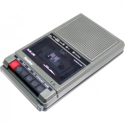 Hamilton Buhl - HA-802 - Hamilton Buhl Classroom Cassette Player - 2 Station, 1 Watt