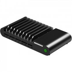 Hamilton Buhl - LTT-10 - Hamilton Buhl 10 Port USB Charging Station - Docking - Tablet PC, Cellular Phone - Charging Capability - 10 x USB