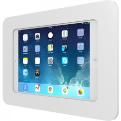 Compulocks Brands - 303W250MROKW - Compulocks Rokku iPad Enclosure 360 Kiosk - Premium iPad Enclosure Kiosk - White