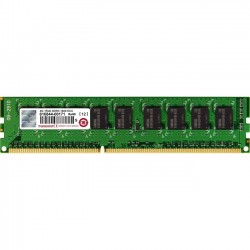 Transcend - TS512MLK72V6H - Transcend DDR3 1600 ECC-DIMM 4GB 11-11-11 1Rx8 - 4 GB - DDR3 SDRAM - 1600 MHz - 1.50 V - ECC - Unbuffered - 240-pin - DIMM