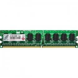 Transcend - TS128MLQ72V8U-I - Transcend 1GB DDR2 SDRAM Memory Module - 1 GB - DDR2 SDRAM - 800 MHz DDR2-800/PC2-6400 - 1.80 V - ECC - Unbuffered - 240-pin - DIMM