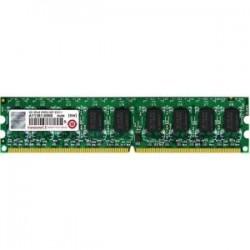 Transcend - TS256MLQ72V6U-I - Transcend 2GB DDR2 SDRAM Memory Module - 2 GB - DDR2 SDRAM - 667 MHz DDR2-667/PC2-5300 - 1.80 V - ECC - Unbuffered - 240-pin - DIMM