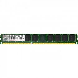 Transcend - TS512MKR72V6NL - Transcend DDR3 1600 R-DIMM 4GB 11-11-11 2Rx8 VLP - 4 GB - DDR3 SDRAM - 1600 MHz DDR3-1600/PC3-12800 - 1.50 V - ECC - Registered - 240-pin - DIMM