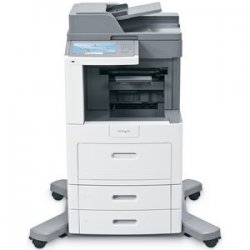 Lexmark - 16M1504 - Lexmark X658DFE Government Compliant Multifunction Printer - Monochrome - 55 ppm Mono - 1200 x 1200 dpi - Fax, Copier, Scanner, Printer