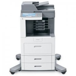 Lexmark - 16M1505 - Lexmark X658DME Government Compliant Multifunction Printer - Monochrome - 55 ppm Mono - 1200 x 1200 dpi - Fax, Copier, Scanner, Printer