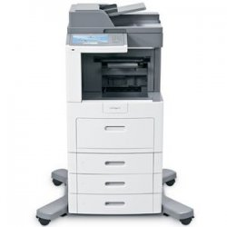 Lexmark - 16M1507 - Lexmark X658DTFE Government Compliant Multifunction Printer - Monochrome - 55 ppm Mono - 1200 x 1200 dpi - Fax, Copier, Scanner, Printer