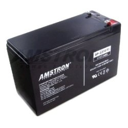 Amstron - AP1270F1 - Amstron 12V/7.0AH SLA Battery w/ F1 Terminal - 7000 mAh - 12 V DC - Lead Acid - Maintenance-free/Sealed