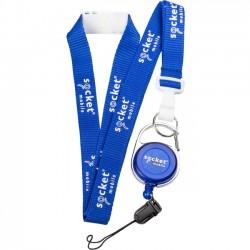 Socket Communications - AC4063-1494 - Socket Mobile Lanyard with Belt Clip - 50 - Blue