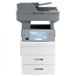 Lexmark - 16M1785 - Lexmark X656DTE High Voltage Government Compliant Multifunction Printer - Monochrome - 55 ppm Mono - 1200 x 1200 dpi - Fax, Copier, Scanner, Printer