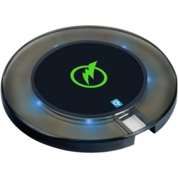 Mizco - WPC-QC100 - DigiPower Smart Wireless Charging Pad for Qi Smartphones - 5 V DC Input - 5 V DC Output - 2