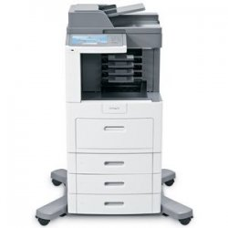 Lexmark - 16M1791 - Lexmark X658DTME High Voltage Government Compliant Multifunction Printer - Monochrome - 55 ppm Mono - 1200 x 1200 dpi - Fax, Copier, Scanner, Printer