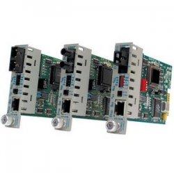 Omnitron - 8360-0 - iConverter 100Mbps Ethernet Fiber Media Converter RJ45 ST Multimode 5km Module - 1 x 100BASE-TX; 1 x 100BASE-FX; Internal Module; Lifetime Warranty