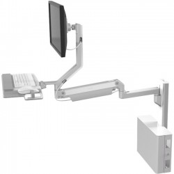 Humanscale - V637-0808-11000 - Humanscale Wall Mount for Flat Panel Display