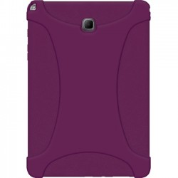 Amzer - 97783 - Amzer Silicone Skin Jelly Case - Purple - Tablet - Purple - Textured - Silicone