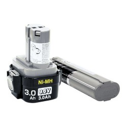 Makita - 193156-7 - Makita 9134 Nickel Metal Hydride Pod Style Hardware Tool Battery - Nickel-Metal Hydride (NiMH) - 9.6V DC