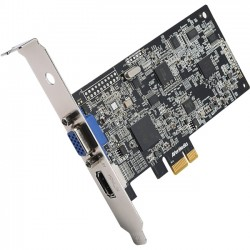 AverMedia - CD311 - AVerMedia DarkCrystal HD Capture (CD311) - Functions: Video Capturing, Video Recording - PCI Express 2.0 x1 - 1920 x 1080 - MP4, WMV, AVI - VGA - PC, Linux - Plug-in Card