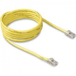 Belkin / Linksys - A3L781-07-YLW - Belkin - Patch cable - RJ-45 (M) to RJ-45 (M) - 7 ft - CAT 5e - molded - yellow