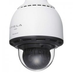 Sony - SNC-RH164 - Sony SNC-RH164 Outdoor Dome Network Camera - White - Color - CMOS - Cable