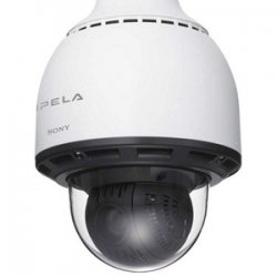 Sony - SNC-RS86N - Sony SNC-RS86N Outdoor Dome Network Camera - Color - CCD - Cable