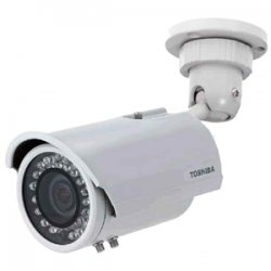 Toshiba - IK-7200A - Toshiba IK-7200A Day/Night Bullet Camera - Color - CCD - Cable