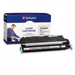 Verbatim / Smartdisk - 95547 - Verbatim HP Q7560A Black Remanufactured Laser Toner Cartridge - TAA Compliant - Black - Laser