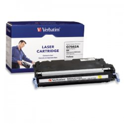 Verbatim / Smartdisk - 95545 - Verbatim Remanufactured Laser Toner Cartridge alternative for HP Q7562A Yellow - Yellow - Laser
