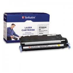 Verbatim / Smartdisk - 95545 - Verbatim Remanufactured Laser Toner Cartridge alternative for HP Q7562A Yellow - Yellow - Laser