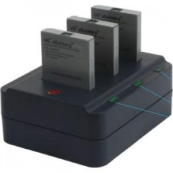 ZCover - CI92AUDB - zCover zDock Desktop Dual Charging Dock - 5 V DC Input - AC Plug - 3 - Proprietary Battery Size