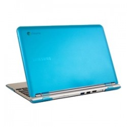 iPearl - MCOVERS500C13AQU - iPearl mCover Chromebook Case - Chromebook - Aqua - Polycarbonate