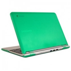 iPearl - MCOVERS500C13GRN - iPearl mCover Chromebook Case - Chromebook - Green - Polycarbonate