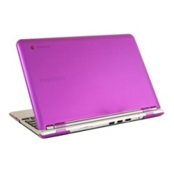 iPearl - MCOVERS500C13PUP - iPearl mCover Chromebook Case - Chromebook - Purple - Polycarbonate