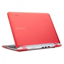 iPearl - MCOVERS500C13RED - iPearl mCover Chromebook Case - Chromebook - Red - Polycarbonate
