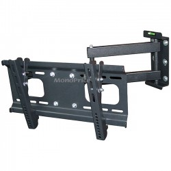 Monoprice - 6198 - Monoprice Wall Mount for Flat Panel Display - 23 to 37 Screen Support - 88 lb Load Capacity - Steel - Black
