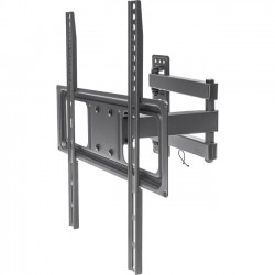 IC Intracom - 461320 - Manhattan Universal Basic LCD Full-Motion Wall Mount - Holds One 32 to 55 Flat-Panel or Curved TV up to 77 lbs.; Adjustment Options to Tilt, Swivel and Level; Black