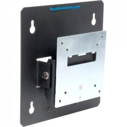 RACK SOLUTION (PT) - 104-4011 - Rack Solutions Wall Mount for Monitor - 40 lb Load Capacity - Black Powder Coat