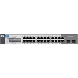 Hewlett Packard (HP) - J9561A#ABA - HP ProCurve 1410-24G Gigabit Ethernet Switch - 24 x Gigabit Ethernet Network, 2 x Gigabit Ethernet Expansion Slot - 2 Layer Supported - Rack-mountable, Wall Mountable, Desktop - Lifetime Limited Warranty